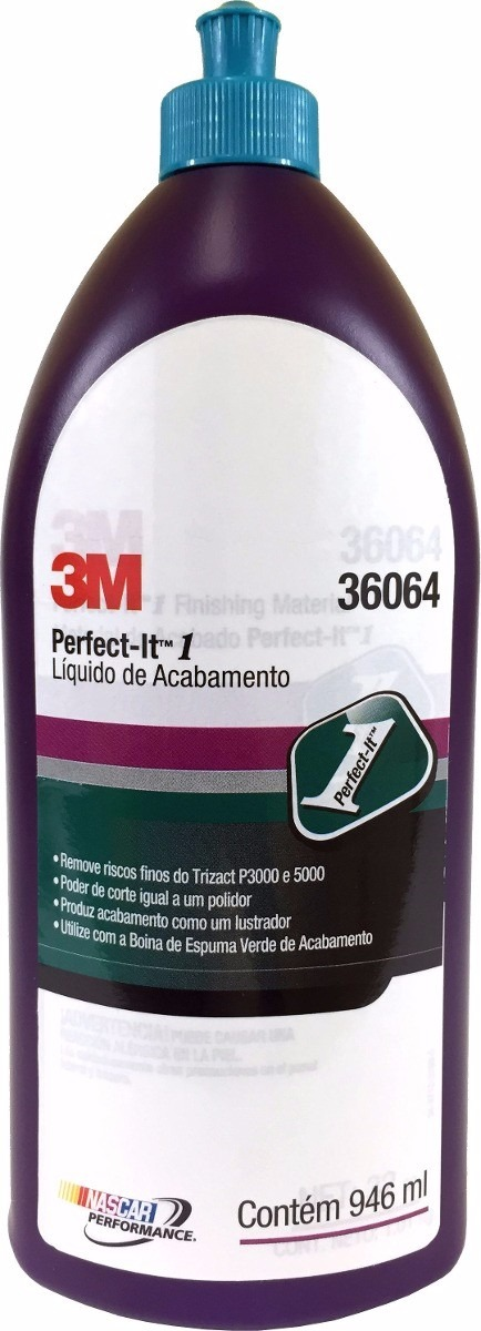 Liquido de Acabamento 3M Perfect-it  946ml